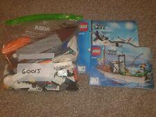 LEGO City 60015 Coast Guard Plane Complete Town Boat