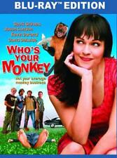 WHO'S YOUR MONKEY USED - VERY GOOD BLU-RAY