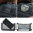 Hot Sale Universal Car Seat Side Back Net Bag Phone Holder Pocket Black Color