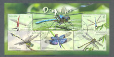 Australia-Dragonflies-insects- min sheet fine used cto 2017