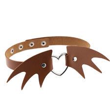 Bat Halloween Choker heart Cool Vintage Choker Necklace Goth Jewelry Gift
