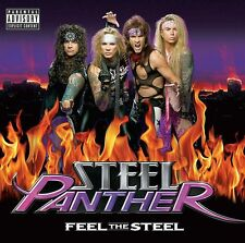 Steel Panther-Feel The Steel Vinyl LP Cover Sticker or Magnet