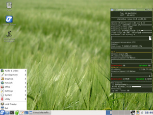 Slackel Linux Live USB Slackware Salix KDE desktop Replace Windows Fast Secure