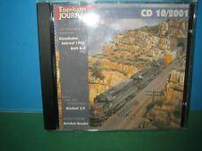 EISENBAHN JOURNAL ~ CD-ROM    10 / 2001 ONLY ~ GERMAN TEXT > VGC SEE PIC'S