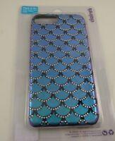fits iPhone 6 plus, 7 & 8 + plus phone case mermaid scales cover