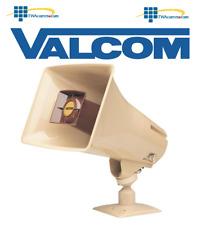 Valcom Vc-V-1030C Paging Horn 5 Watts 1 Way, Beige + Free Shipping!