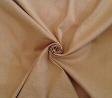 12 Metres Textured Grid Design Cotton Curtain & Interior Fabric Material In Hay