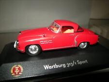 1:43 Atlas Edition Wartburg 313/1 Sport in VP