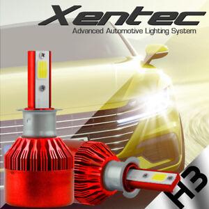 2x XENTEC H3 LED Fog Light Bulb Kit for Nissan Maxima 1997-2006 6000K White COB