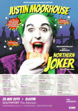 Justin Moorhouse 'Northern Joker' 2018-2019 Tour Flyer. Mint Condition.