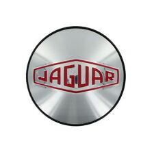 Jaguar Silver Red Classic Logo Wheel Badge Center Cap Set Of 4 C2C39745 OEM