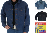 Men's Wrangler Cowboy Cut Denim Jacket - Inside Pockets
