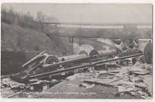 Wreck of The Cromer Express at Witham Essex Fred Spalding 637 Postcard B739