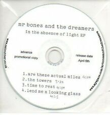 (32J) Mr Bones & The Dreamers, In The Absence of- DJ CD