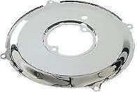 VW CHROME DYNAMO / ALTERNATOR BACKING PLATE - BEETLE / CAMPER T1 BUG BUS VAN