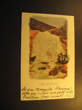 H.H. Falls, Colorado Springs, Co., used postcard, undivided back
