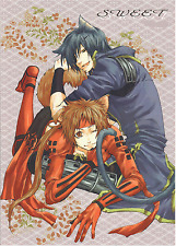 Sengoku Basara (Samurai Kings) Doujinshi kitty Date Masamune x doggy Sanada Yuki