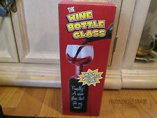 The wine bottle glass, NIB