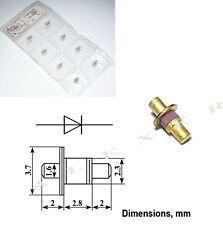 1x  2A609A Russian  Military Si Multiplier diode 2W  150... 370GHz