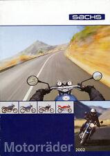 Sachs - Motorräder - Prospekt -  2002  - Deutsch - nl-Versandhandel