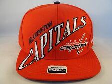 Washington Capitals NHL Reebok Snapback Hat Cap Red