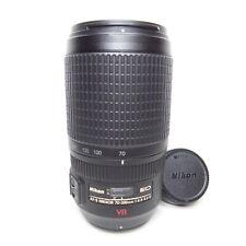EXCELLENT Nikon Zoom-NIKKOR 70-300mm f/4.5-5.6 M/A ED AF-S VR F-Mount Lens