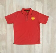 Manchester United football polo shirt jersey official merchandise size l