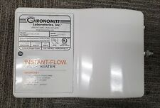 Chronomite Electric Tankless Water Heater,120VAC SR-30L/120 HTR-I