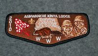 BSA - OA FLAP PATCH…ASHWANCHI KINTA LODGE 193…S33 ISSUE…CHOCTAW AREA COUNCIL 302