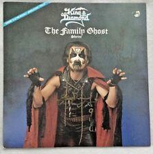 "Autographed King Diamond ""The Family Ghost/Shrine"" 12-Inch Vinyl Single"
