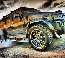 "Hummer H2 Fenders Flares ""Pradator"" (8pcs) with fasteners kit"