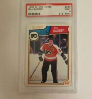 1983 OPC Bill Barber O-PEE-CHEE PSA 9 Philadelphia Flyers