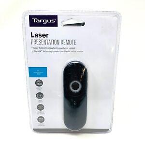 Targus Laser Presentation Remote -Key Lock Technology Includes Mini USB Receiver