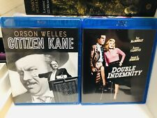 Citizen Kane & Double Indemnity Blu-Ray Disc | Classic Hollywood Double Feature