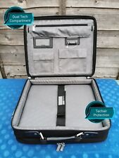 Toshiba Dual Laptop Bag 17 Inch Shoulder Padded Case Business Notebook Computer