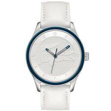 Lacoste Damen Uhr Armbanduhr Victoria Edelstahl Leder 2000836
