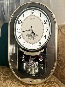 Stardust-Melodies in Motion Wall Clock by Seiko