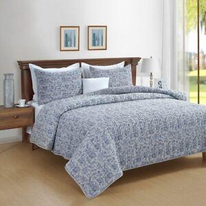 Cotton velvet Quilted Park Avenue Rafaella Comforter Coverlet set