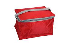 Kühltasche klein handlich für Ausflug Picknick Arbeit rot