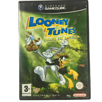 Looney Tunes Back in Action GameCube Game PAL Wii Compatible No Manual - Tested