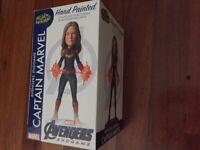 Avengers 4: Endgame - Captain Marvel Head Knocker-NEC61789-NECA