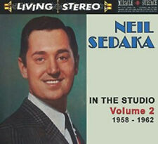 Neil Sedaka : In the Studio 1958-1962 - Volume 2 CD (2014) ***NEW***