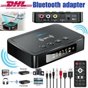 NFC Bluetooth 5.0 Empfänger Audio Receiver 3,5mm HiFi Wireless Stereo Adapter DE