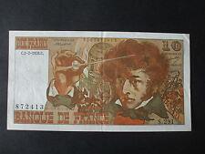 billet 10 francs berlioz 1976