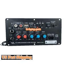 220V 12v 24v Digital Bluetooth Stereo Amplifier Board Dual Karaoke Amplifiers
