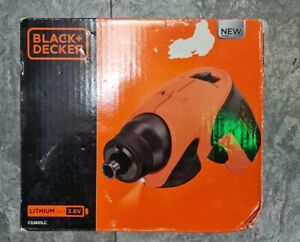 Black + Decker - Cordless Screwdriver 3.6v - CS3651LC-GB