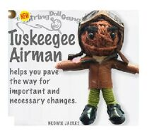 Kamibashi Tuskegee Airman Pilot The Original String Doll Gang Keychain Clip