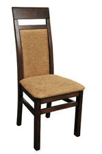 Chair 2x Chairs Group Set Living Dining Room Set Wood Style Textile New Modern