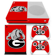 Georgia Bulldogs XBS Decal Sticker XB One S Vinyl Controller Console Skin