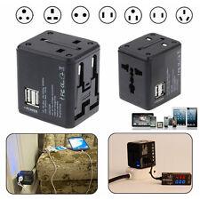 4 in 1 Universal Power Adapter Electric Converter USAUUKEU World Travel Plug